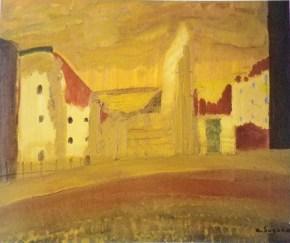 Munich landscape / 1953 / oil / 45×53cm