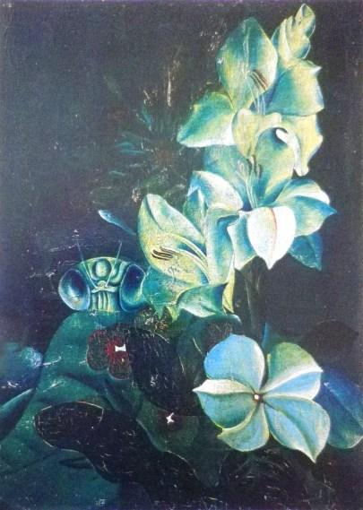 Gladiolus / 1942 / oil / 33x24cm
